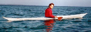 Volker Born with current kayak